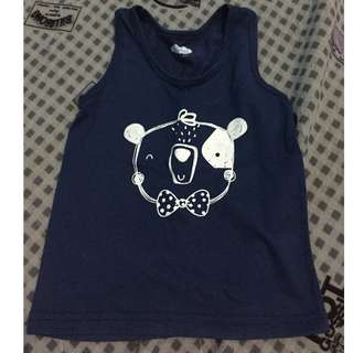 Little wishes baby top [blue]