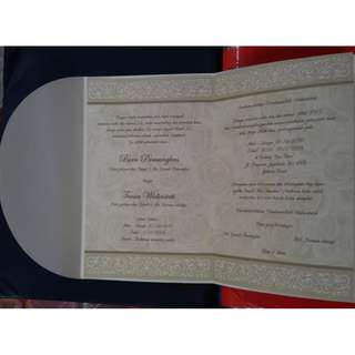Cetak Undangan  pernikahan 88182