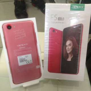 Oppo F5 Pro Red 6/64 GB buka segel