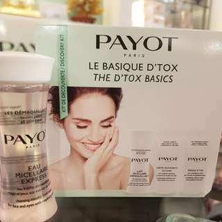 Payot Travel Kit D'tox set