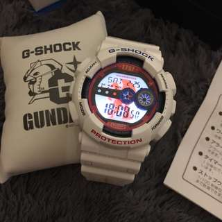 CASIO G-SHOCK × GUNDAM Mobile Suit Gundam 35th Anniversary Watch GD-100
