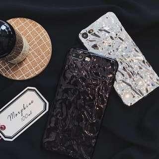 立體錫紙手機殻 iphone 6/6s/6plus/7/7plus