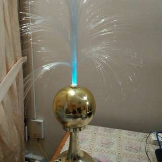 Electric Display fountain light - it changes into different colors when it is placed a dark area