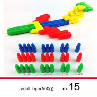 small lego bullet building blocks 500g/package