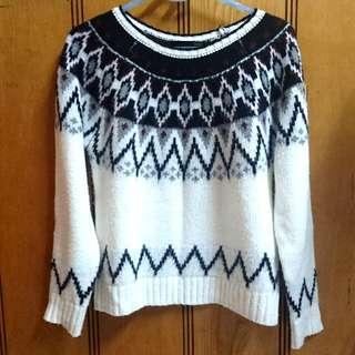 Heather 北歐圖騰毛衣