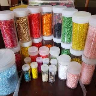 2mm Plastic Beads