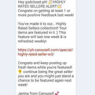Thank you carousell! ❤