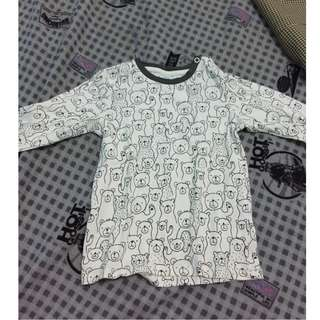 (NEW) H&M Long sleeves 12-18months