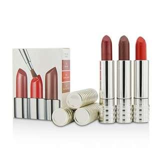 CLINIQUE Long Last Lipstick Trio 持久唇膏3件裝