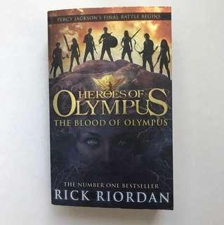 The Blood of Olympus - Rick Riordan (Heroes of Olympus Series)