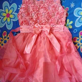 Little Girl's Gown Moving Up, Weddings, Programs
