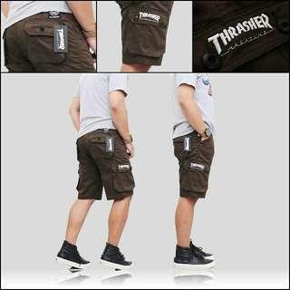 celana kargo pendek - celana pendek cargo pria
