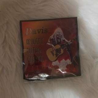 Davis acoustic guitar strings