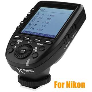 [BN] Godox XProN TTL Wireless Flash Trigger for Nikon Cameras