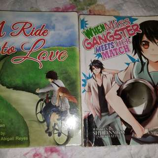 A Ride To Love & When Miss Gangster Meets Her Match BUNDLE