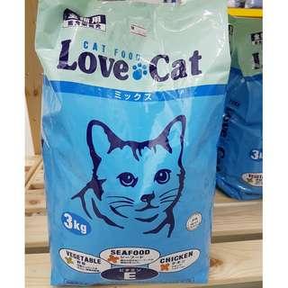 Love Cat Dry Food 3kg