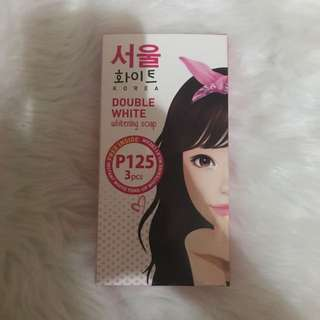 Seoul White Double White Whitening soap (3 pcs)