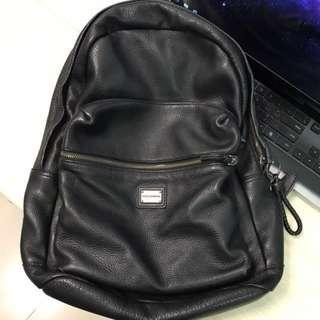Dolce & Gabanna D&G leather backpack bag 背包 袋