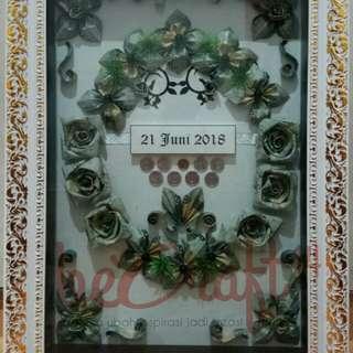 Mahar Pernikahan konsep bunga