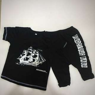 226-0106 Boy Cute Set Wear