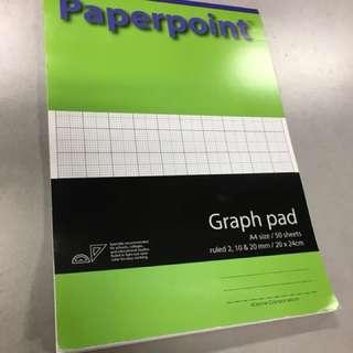 Graph Paper, memo pad