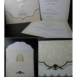 Cetak undangan pernikahan no E 88134