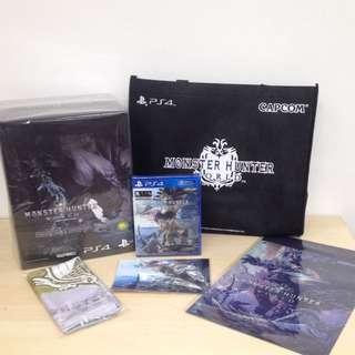 (Brand New) PS4 Monster Hunter World: Collector's Edition / R3