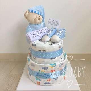 Customised Diaper Cake