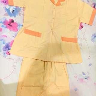 Baju suster yellow XL