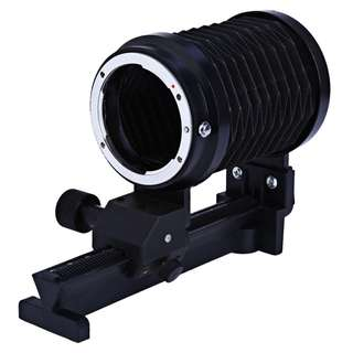MACRO EXTENSION CLOSE-UP SLIDE BELLOWS FOR NIKON DSLR CAMERAS 15.00 x 11.30 x 6.80 cm