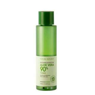 Nature Republic Soothing & Moisture Aloe Vera 90% Toner (160ml)