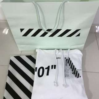 """WTT Off-white """"FOR ALL"""" 01 Diagonals hoodie (XL)"""