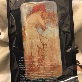 Mucha 4season TPU case for iphone6/6s 穆夏四季女神軟殼