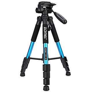 ZOMEI Q111 56 INCH LIGHTWEIGHT PROFESSIONAL CAMERA VIDEO (BLUE) 10.50 x 10.50 x 50.50 cm