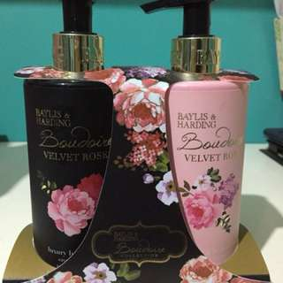 Baylis and Harding Lotion and Hand soap