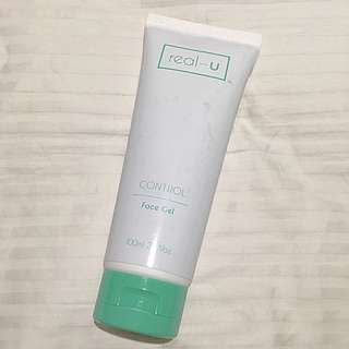 real - u Control Face Gel