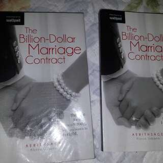 The billion dollar marriage contract