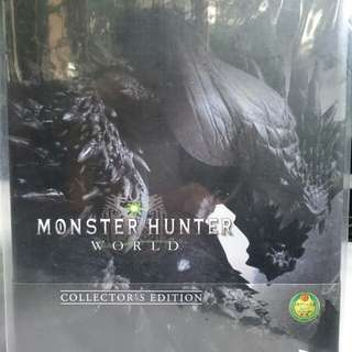 PS4 Monster Hunter World Collectors Edition Brand New (Sealed)
