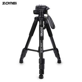 ZOMEI Q111 56 INCH LIGHTWEIGHT PROFESSIONAL CAMERA VIDEO (BLACK) 10.50 x 10.50 x 50.50 cm