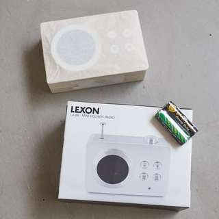 BNIB Lexon LA-69 Mini Dolmen Radio