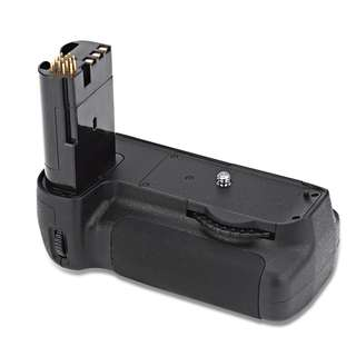 VELEDGE BG 2C PROFESSIONAL VERTICAL CAMERA BATTERY HANDLE GRIP FOR NIKON D90 D80 (BLACK) One Size