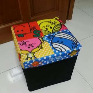 Mr Men And Little Miss Container Stool