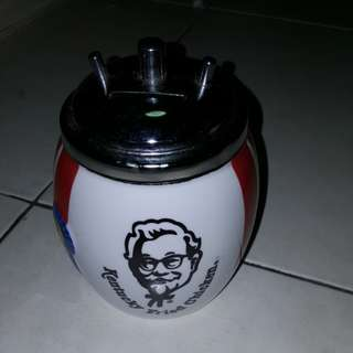 Vintage Kentucky Fried Chicken coin bank