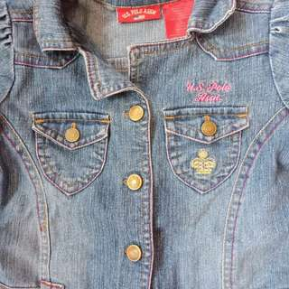 Maong Denim Dress for Baby Girl