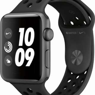 Apple Watch series 3 non cellular (Nike black) 42mm