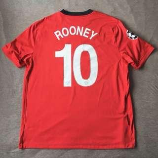 Nike 曼聯 2009/10 Rooney 主場球衣