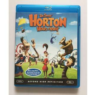 Dr. Seuss' Horton Hears a Who! Blu Ray