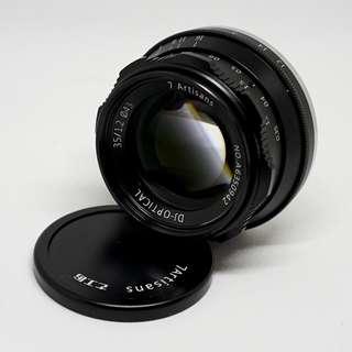 7artisans 35mm f1.2  APSC Sony E mount