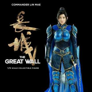 1:6 threezero threea hottoys 長城 景甜 great wall 林梅