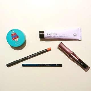 🌈 innisfree & etude makeup